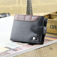 Wholesale Free Business Promotions - Promotion Casual Wallets For Men New Design Top Purse Mens Card Holder Wallet With Coin Pocket Wholesale Free shipping