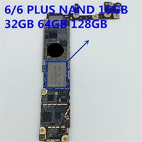 Wholesale Flash Memory Iphone - For iPhone 6 6plus 6 4.7 6 5.5 NAND flash memory IC Hardisk 16GB 32GB 64GB HDD chip iCloud unlock programmed with serial Number with balls