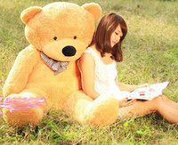 Wholesale Life Size Dolls For Sale - 2015 High quality new 160CM Life size teddy bears Doll Plush Toys Large Giant Big Teddy Bear For Sale Valentine's Christmas Birthday Gift