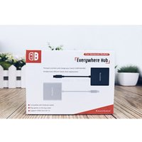 adapterkonverter dock großhandel-für Kacosata Portable Dock für Nintendo Switch NS zu TV / Video Typ-C zu HDMI Adapter Hub-Kabel USB-C zu HDMI Konverter 1080P 4K