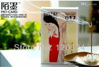 Wholesale Video Greeting Card Wedding - wedding cardstock birthday cards New About Chinese women Style Set 30 Sheets Envelope Greeting Cards postcard
