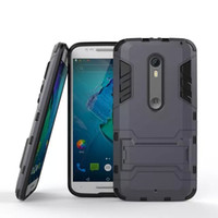 Wholesale Pro Bolts - FOR HTC 10 A9 DESIRE 10 Bolt Evo DESIRE 10 PRO Ascend G8 Mate S Mate 8 Hybrid KickStand Anti Shock Defender Armor Case TPU+PC cover 100PCS