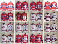 Wholesale Maurice White - Men's Throwback Montreal Canadiens 9 Maurice Richard 4 Jean Beliveau 33 Patrick Roy 29 Ken Dryden 10 Guy Lafleur Vintage Classic Red White