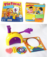 Hot Interactive Games Kids Adult Game Korea Running Man Pie Face Game Pie Face Cream On Face Hit Toy Rocket Catapult Consoles de jogos