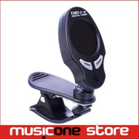 Wholesale Eno Guitar Tuner - Free Shipping ENO ET-30 Digital LCD Guitar Bass Violin Clip-on Automatic Chromatic Tuner MU0103