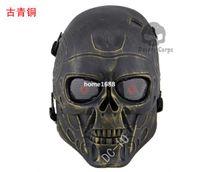 Wholesale Field Protective Mask - DC-10 Terminator riding CS mask field protective mask skull mask genuine metallic mask free shipping