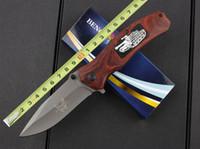 Wholesale Rosewood Knife Set - 2015 BM knife F69 folding knife Rosewood handle 3Cr13 55HRC blade EDC pocket knife outdoor gear high quality knives gift 839L