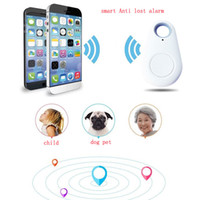 Wholesale Lost Dog Tracker - iTag pet dog Locator tracker smart key finder anti-lost child kids alarm bag wallet selfie for IOS Android 2016 hot style