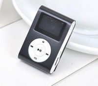 Wholesale Card Recorder Gift - MP3 Player with 1.2'' Inch LCD Screen Music player Support Micro SD Card TF Slot + Earphone +USB Cable with Gift box best