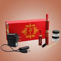 Wholesale e games for sale - game jesus piece vaporizer G22 e cig vaporizer electronic cigarette red wax smoking wax smoking starter kit TZ166