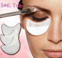 Beauty Eye Make up Tools Lidschatten Shield Pad Aufkleber Einweg Wimpern Erweiterungen Patch Pad