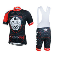 Prezzi Kit E Bike-NUOVO 2015 Rock Racing Cycling Jersey e bicchierini corti Kit ciclo Cycle Bike Team Ropa Ciclismo bicicletas maillot ciclismo # 01