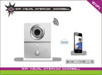 control de acceso de alarma al por mayor-Función de alarma WIFI Control remoto APP Intercomunicador visual Puerta Control de acceso Video de puerta Teléfono