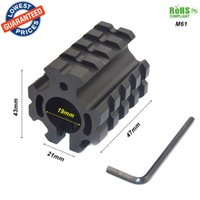 Wholesale 21mm Ring Mount - ALONEFIRE M61 Universal 3 Picatinny weaver Rail 19mm ring Barrel Hunting Scope Mount 21mm Fit for mount scope