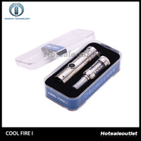 Wholesale New Fire Starters - Innokin Cool Fire Unique 1 Coolfire 1 Starter Kit Electronic Cigarette Innokin Cool Fire with iclear 30S Atomizer New Design 100% Original