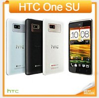 "Wholesale Mobile Phones One Sim - Original HTC One SU T528W Mobile phone 4.3""TouchScreen Dual SIM Dual Core 3G GPS Wi-Fi 5.0MP Multi-language Free Shipping"