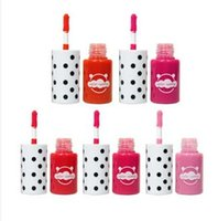 Wholesale korea lipstick matte resale online - 12pcs Korea color sunny Soft Matte Lip Cream Lipstick Makeup Charming Long lasting Daily Party Brand Glossy Makeup Lipsticks Lip Gloss Stock