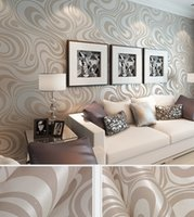 Wholesale Fabric Damask - Fashion Hot 0.7m*8.4m wallpaper rolls Papel de parede Sprinkle gold murals damask wall paper roll modern stereo 3D mural wall paper