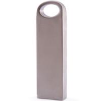 Wholesale Usb Customized - 8GB 100 PCS Memory Flash Drive USB Thumb Stick Pendrive Genuine Storage Metal Customized Logo Service Silver