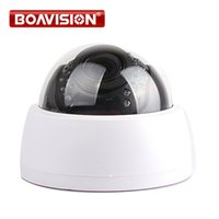 HD 720P 1080P Dome IP Camera 1MP / 2MP ONVIF H.264 Uso interno 30Pcs IR Night Vision 2.8-12mm VariFocal 4X Manual Zoom P2P Cloud