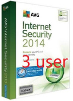 Wholesale Internet Homes - Wholesale - AVG Internet Security 2014 2013 entire function software English 3 years four years card 3pc