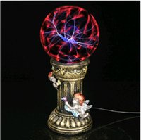 Wholesale Electrostatic Lamp - Wholesale-Jinfeng magic plasma electrostatic lamp series five inch 5 inch four inch 4 inch induction laser ball size.