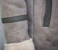 Wholesale Korean Leather Trench Coat - Fall-2015 Winter Fashion Korean Leather Jacket Men Long Leather Trench Coat Faux Mens Sheepskin Coat