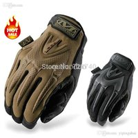 Wholesale Mpact Mechanix Wear Gloves - 2015 New MECHANIX MPACT Gloves Wear Edition Motorcycle Outdoor Tactical Combat US Seal Army Military Full Finger Gloves Free Shipping