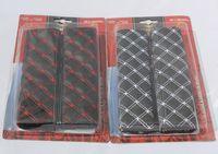 Wholesale Black Seat Belt Set - Wine seat belt shoulder pad sets. Shoulders car sets for installation. Car accessories suit 44-2B \ 1216