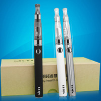 Wholesale Double Stem - E cigarette Nigel eVod Double Stem E Cig kit with 1100mAh Variable Voltage EVOD Battery gift box High Quality Electronic Cigarettes Vapor