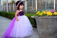 Wholesale Store Dresses Girls Wedding - 2015 In store Fashion Dress Spring Summer Sleeveless Floor Length Court Train Flower Girl Dresses Pageant dress Free shipping