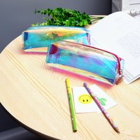 1 Pz / Vendi BoysGirls Cartoon PVC Viaggi Borse Cosmetici Caso Donne per Make Up Pouch Caso di Matita Lusso Famoso Marchio Forniture