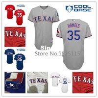 Wholesale Cheap Free Size White Shirts - 30 Teams- Cheap #35 Cole Hamels Jersey Texas Rangers Jerseys Size M~ XXXL Red White Blue Grey Embroidery Baseball Shirt Free Shipping