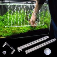 barra de tanques al por mayor-El difusor del lanzamiento de la barra de burbuja del respiradero del respiradero del tanque de pescados del acuario del plástico fijó nuevo