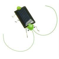 All'ingrosso- Divertente !! Nuovo arrivo Grasshopper Model Solar Toy Children Outside Toy Kids Educational Toy Gifts