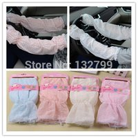 Wholesale Gloves Bycicle - Wholesale-Chiffon UV Sun Protection Sleeves Summer Arm Sleeve Cover Lady Girl Driving Bycicle Outdoor Sleeves