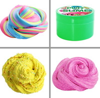 Wholesale stress toys for kids for sale - Group buy 12 Colors Decompression Toy PUFF SLIME Colorful Cotton Mud DIY Plasticine Mud for Kids and Adults Anti Stress and Relaxing