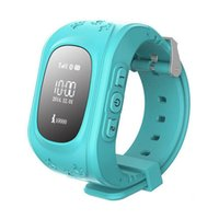 Wholesale Kids Belts Wholesale - Q50 Kids Smart Watch GPS LBS Double Location Safe Children Watch Activity Tracker SOS Card for Android and IOS