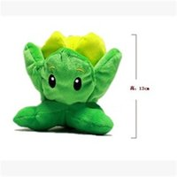 Wholesale Plants Vs Zombies Squash Plush - Wholesale-2015 Newest 30cm Plants Vs Zombies Plush Toy Pure Cotton Toy Pea Shooter Sunflower Squash Zombie Hobbies Stuffed Gift TY142