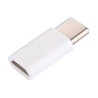 Wholesale multimedia tablets online - USB Type C Male to Micro USB Pin Female Data Adapter For Tablet Mobile Phone White Color