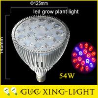 Wholesale High Lumen Led Lamp - 2017 New Par20 Par30 Par38 High lumen artificial lamp 9W 15W 21W 27W 36W 45W 54W Aluminum Led plants Grow Lights