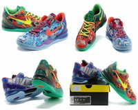 Wholesale Discount Glitter Shoe Laces - New Brand Kobe 8 VII System Limited Basketball Shoes For Men Cheap High Quality Discount Outdoor Sports Sneakers Eur 40-46 Free Shipping