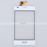 Wholesale Lg L5 Touch Screen - Touch Screen Glass Digitizer Panel Replacement For LG Optimus L5 E610 E612 Front Glass Screen Cover