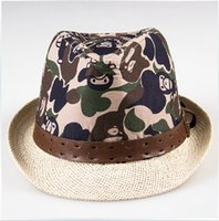 Wholesale Camouflage Stocking Hats - Wholesale-T14121803, 1PC lot, Tianluse, New Stock Winter Unisex Dome camouflage Papyrus Dome Fedoras Caps hats ,Free Shipping