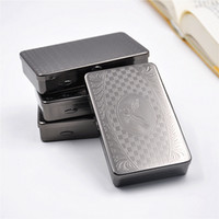 New Design Tobacco Storage Box Container Gun Black Color Alta qualidade Cigarette Holder Case Wholesale Factory Sales