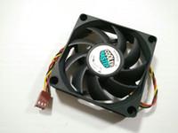 cpu serin toptan satış-Cooler Master Orijinal A7015-45RB-3AN-C1 DF0701512RFUN 12V 0.6A 70 * 70 * 15MM 7cm bilgisayar CPU soğutma fan