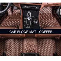 Wholesale Carpet Set Audi - Custom car floor mats for Audi A1 A3 A4 A5 A6 allroad A7 A8 A8L Q3 Q5 Q7 car-styling foot case rugs carpet anti-slip liners