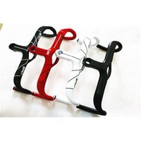 Wholesale Integrated Handlebars - Full Carbon Fiber Road Bicycle Integrated Handlebar With Stem 4 colors Carbon Road Handlebar Bike handlebar Multiple Size