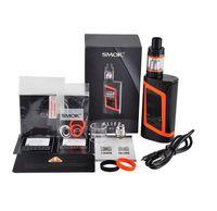 Wholesale Gold Advance - Top quality SMOK Alien 220W Kit E Cigarette Advanced Vaper Starter Kit 220Watt TC E Cig Kit dual 18650 Battery DHL Free