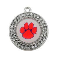 Wholesale Enamel Tiger - Clemson Tigers enamel sports series charms